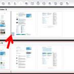 Um einzelne Seiten eines Dokuments in die andere Datei zu verschieben, klicken Sie diese an. Per Drag-and-drop ziehen Sie die Seite an die gewünschte Stelle und lassen anschließend die Maustaste los. (Bild: Screenshot/PDF24 Creator)
