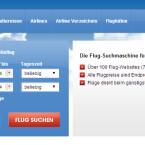 Mit flughexe.com durchsuchen Sie mit einem Klick rund 100 Flug-Webseiten und checken darüber die Angebote von mehr als 700 Fluggesellschaften. In unserem Test gab es am Ergebnis nichts auszusetzen. Die angezeigten Preise lagen unter denen der Onlinereisebüros. (Bild: Screenshot)