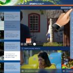 """Über den Menüpunkt """"Videos"""" verfolgen Sie die Berichterstattungen zu den Mannschaften, WM-Updates, Bilder zu den Spielorten und können die News der Spieltage sehen. Bei den Team-Updates rufen Sie sich gezielt die jeweilige Mannschaft auf, die Sie interessiert. (Bild: Screenshot/Sportschau FIFA WM)"""