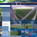 """Den Live-Stream rufen Sie sich über den Punkt """"Live"""" in den Highlights auf. Anschließend verfolgen Sie das Spiel aus sechs verschiedenen Kameraperspektiven. Wer nur die Trainerbank beobachten möchte, kann dies hier tun. Im Anschluss an das Spiel steht das Match als Aufzeichnung zur Verfügung. (Bild: Screenshot/Sportschau FIFA WM)"""