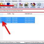 """Starten Sie WinRAR mit einem Doppelklick und navigieren Sie zu dem Ordner, der die zu packenden Daten enthält. Markieren Sie die Daten mit der Maus. Mehrere Dateien markieren Sie, indem Sie die [Strg]-Taste gedrückt halten. Klicken Sie unterhalb der Menüzeile auf """"Hinzufügen"""", um den Komprimierungsdialog zu öffnen. (Bild: Screenshot/WinRAR)"""
