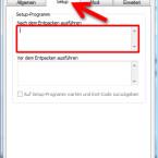 """Auf der Registerkarte """"Setup"""" legen Sie fest, ob nach oder vor dem Entpacken eine Datei gestartet werden soll. Diese Funktion wird beispielsweise genutzt, wenn Sie eine Software herunterladen. Das Setup startet sofort, nachdem die Software entpackt wurde. Bei den Bildern des letzten Ausflugs macht diese Funktion wenig Sinn. (Bild: Screenshot/WinRAR)"""