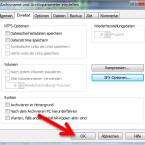 """Mit einem weiteren Klick auf """"OK"""" im Fenster """"Archivparameter"""" starten Sie den Komprimierungsvorgang. (Bild: Screenshot/WinRAR)"""