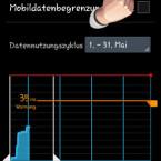 """In den Einstellungen deaktivieren Sie auf Wunsch die Nutzung der mobilen Internetverbindung  vollständig, indem Sie das Häkchen hinter """"Mobile Datenverbindung"""" entfernen. Dadurch besteht unterwegs keine Internetverbindung mehr. Das hat zur Folge, dass sich Apps nicht mehr  aktualisieren. (Bild: Screenshot)"""