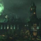 Der dunkle Ritter bahnt sich seinen Weg durch die weitläufige Arkham-Irrenanstalt. (Bild: Warner Bros.)