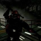 Hat sich der Spieler in den Werwolf verwandelt, rennt er schneller, Hindernisse können ihm weniger anhaben und der Feind wird ohne QTEs schlicht überrannt. (Bild: Wales Interactive)