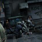 Das Geschehen auf den Straßen gleicht dem blutigen Rinnsal einer Schlachtbank. (Bild: Sony)
