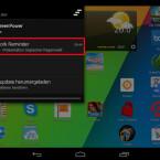 Die Erinnerungen an Ihre Hausaufgaben finden Sie in der Benachrichtigungsleiste Ihres Smartphones. (Bild: Screenshot/Homework Planner)