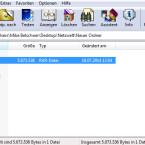 """Öffnen Sie WinRAR. Navigieren Sie zum Verzeichnis, in dem sich die defekte RAR-Datei befindet. Wählen Sie die defekte Datei mit einem Klick aus und betätigen Sie danach den Button """"Reparieren"""" in der Symbolleiste unterhalb des Menüs. (Bild: Screenshot/WinRAR)"""