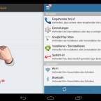 """Über den Menüpunkt """"Themes"""" personalisieren Sie die Android-App optisch. Gemeint ist damit der Hintergrund für die Seite mit der Kennworteingabe oder dem Entsperrmuster. (Bild: Screenshot/Schützen (AppLock))"""