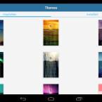 Wählen Sie ein Theme aus, um die App auch optisch an Ihre Bedürfnisse anzupassen. (Bild: Screenshot/Schützen (AppLock))