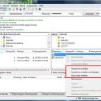 Über das Kontextmenü ist es nach einem Rechtsklick möglich, neue Verzeichnisse anzulegen. Das funktioniert sowohl auf der linken Seite mit den lokalen Daten als auch auf dem FTP-Server auf der rechten Seite. (Bild: Screenshot/FileZilla)