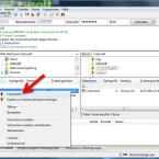 """Um eine Datei vom Computer auf den FTP-Server zu laden, klicken Sie diese im linken Fenster mit der rechten Maustaste an. Im Kontextmenü wählen Sie """"Hochladen"""". Dadurch wird die Datei ohne weitere Nachfrage in den FTP-Ordner auf der rechten Seiten übertragen. Halten Sie die [Strg]-Taste gedrückt, um mehrere Dateien auszuwählen und auf einmal zu übertragen. Das geht auch umgekehrt, wenn Sie Dateien herunterladen möchten. (Bild: Screenshot/FileZilla)"""