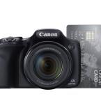 Das Gehäuse der SX520 HS ist kompakt gehalten. (Bild: Canon)