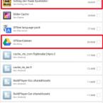 Bei der erweiterten Reinigung sucht Clean Master noch intensiver nach nicht mehr benötigten Dateien, die besonders groß sind. Allerdings solltet ihr genau prüfen, ob ihr die Daten nicht mehr benötigt. Denn das Tool findet Speicherfresser, manche Daten werden jedoch noch benötigt. So könnten Spieldateien oder Offline-Dokumente in GoogleDrive für euch noch wertvoll sein. Hakt nur Positionen an, von denen ihr genau wisst, dass ihr diese nicht benötigt.