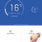 Den App-Manager rufen Sie auf, indem Sie auf der Startseite auf den gleichnamigen Button tippen. (Bild: Screenshot/Clean Master)