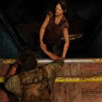 Tess ist ein weiterer Nebencharakter in The Last of Us und hilft Hauptdarsteller Joel tatkräftig. (Bild: Screenshot / Sony)