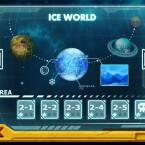 Der Einzelspielermodus treibt euch auf fünf verschiedene Planeten. (Bild: Sanuk Games)