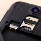 Das Desire 310 läuft mit einer Mini-SIM-Karte. (Bild: netzwelt)