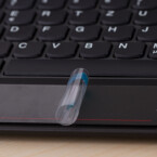 Das Trackpad aus Glas ist multitouchfähig. (Bild: netzwelt)