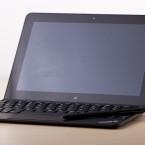 Sieht erwachsen aus: Tablet und Tastatur vereint. (Bild: netzwelt)