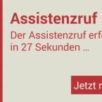 Der Assistenzruf kann einer bestimmten Rufnummer zugeordnet werden. (Bild: Screenshot)