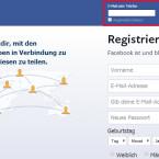 Ihr loggt euch zukünftig wie bisher mit eurem Benutzernamen und eurem Kennwort bei Facebook ein.