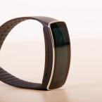Offiziell ist die Gear Fit ein Fitness-Tracker. Das Gadget bietet aber auch Smartwatch-Funktionen. (Bild: netzwelt)