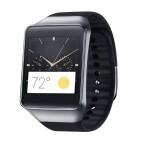 Die Samsung Gear Live läuft mit Android Wear und wurde auf der Google I/O vorgestellt. (Bild: Samsung)
