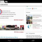 Die Chatsymbole stören gerade dann, wenn Sie Apps nutzen und etwas lesen möchten. Meist tauchen sie dort auf, wo sie wichtige Informationen verdecken. (Bild: Screenshot/Google Chrome)