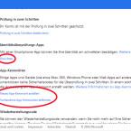 """Über die Sicherheitseinstellungen Ihres Microsoft-Kontos richten Sie jetzt auf Wunsch die Gratis-App """"Google Authentificator"""" ein. Damit empfangen Sie die Einmal-Codes auch ohne Mobilfunk- oder Internetverbindung. Außerdem erstellen Sie in den Einstellungen App-Kennwörter für Geräte, welche die Identitätsprüfung in zwei Schritten nicht unterstützen. (Bild: Screenshot/microsoft.com)"""