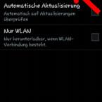 """…und anschließend auf """"Aktualisieren"""", um zu prüfen, ob ein Firmware-Update zur Verfügung steht. (Bild: Screenshot/Samsung Galaxy S4 mini)"""