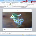 """In der Option """"Video-Tools"""" wählen Sie den Reiter """"Wiedergabe"""". Hier werden Ihnen die Werkzeuge zur Bearbeitung Ihres Videos bereitgestellt. (Bild: Screenshot/Microsoft PowerPoint 2010)"""