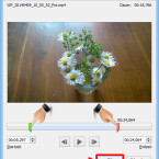 """Im neu geöffneten Fenster legen Sie die Start- und Endzeit Ihres Films fest. Dazu ziehen Sie den grünen Marker in der Zeitleiste an die Stelle, an der das Video starten soll. Mit dem roten Marker legen Sie das Ende des Clips fest. Ein Klick auf """"OK"""" bestätigt Ihre Einstellungen. (Bild: Screenshot/Microsoft PowerPoint 2010)"""