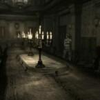 """Gamecube: Der """"berühmte"""" Raum vor der ersten Konfrontation mit einem Zombie. (Bild: Capcom)"""