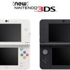 Die Standardausführung des Handhelds ist in den Farben Schwarz und Weiß erhältlich. (Bild: Nintendo)