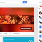 """Besuche deine Google Plus-Seite und klicke oben rechts auf das Hangouts-Icon. Anschließend klickst du in das Suchfeld """"Neuer Hangout""""."""