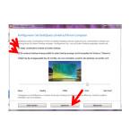 Im nächsten Schritt wählen Sie, ob Sie Ihre Verknüpfungen auf die Desktops aufteilen möchten. Außerdem legen Sie fest, ob jeder Desktop ein anderes Hintergrundbild bekommen soll. Diese Funktion ist allerdings nicht mit Windows 7 kompatibel. Speichern Sie Ihre Änderungen ab.
