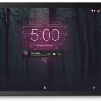 Google setzt auf im neuen Android auf das Prinzip Wiederaufnahme. Hier das Beispiel eines Songs der auf einem Tablet gestartet wurde und über eine Smartwatch wiederaufgenommen kann.