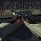Diese metallenen Schuhkartons, die ihr so voraussichtlich auch aus den Filmen kennt, sollen Kryoschlaf ermöglichen. Nun denn...