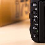 Viele Tasten: Die wichtigsten Kameraparameter lassen sich schnell erreichen.