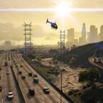 ...wie sich vor allen Dingen bei dem Blick aus dem Cockpit eines Helikopters zeigen wird.
