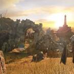 ...die sich unter anderem in Außenarealen zeigen - allerdings nur in der PC-, PS4- oder Xbox One-Version. (Quelle: Bandai Namco)