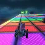 ...und im SNES-Klassiker zeigt die Regenbogenstrecke Farben!