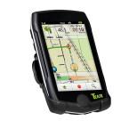 14:15 Uhr: Fahrrad und Wandernavigation Teasi pro pulse, staub- und wasserdichtes Gehäuse nach IPX5-Norm.