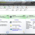 In der alten Version sah der Nutzer nach dem Start der Software sofort, wie es um seine Festplatte bestellt war. Die wichtigsten Informationen wurden in großer Schrift dargestellt. Darunter etwas kleiner die Details.