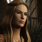 Cersei Lannister in Game of Thrones: Iron from Ice.