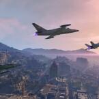 In Formation mit Jets über Los Santos.