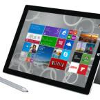 Microsoft schenkt dir 100 Euro beim Kauf des Surface Pro 3 - i5 mit 128 Gigabyte und 4 Gigabyte Arbeitsspeicher.
