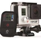 Mit der Outdoor-Actionkamera GoPro Hero3 filmst du deine sportlichen Aktivitäten in Profiqualität.